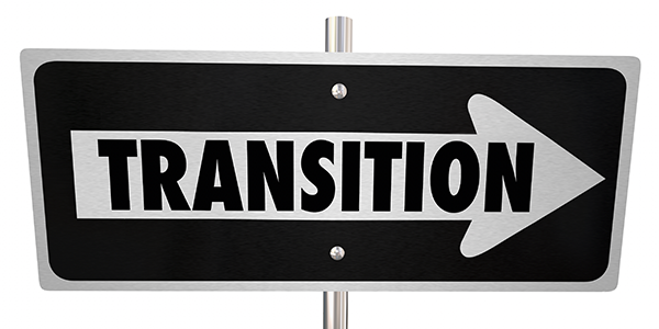 transition sign