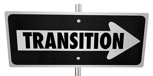 transition sign