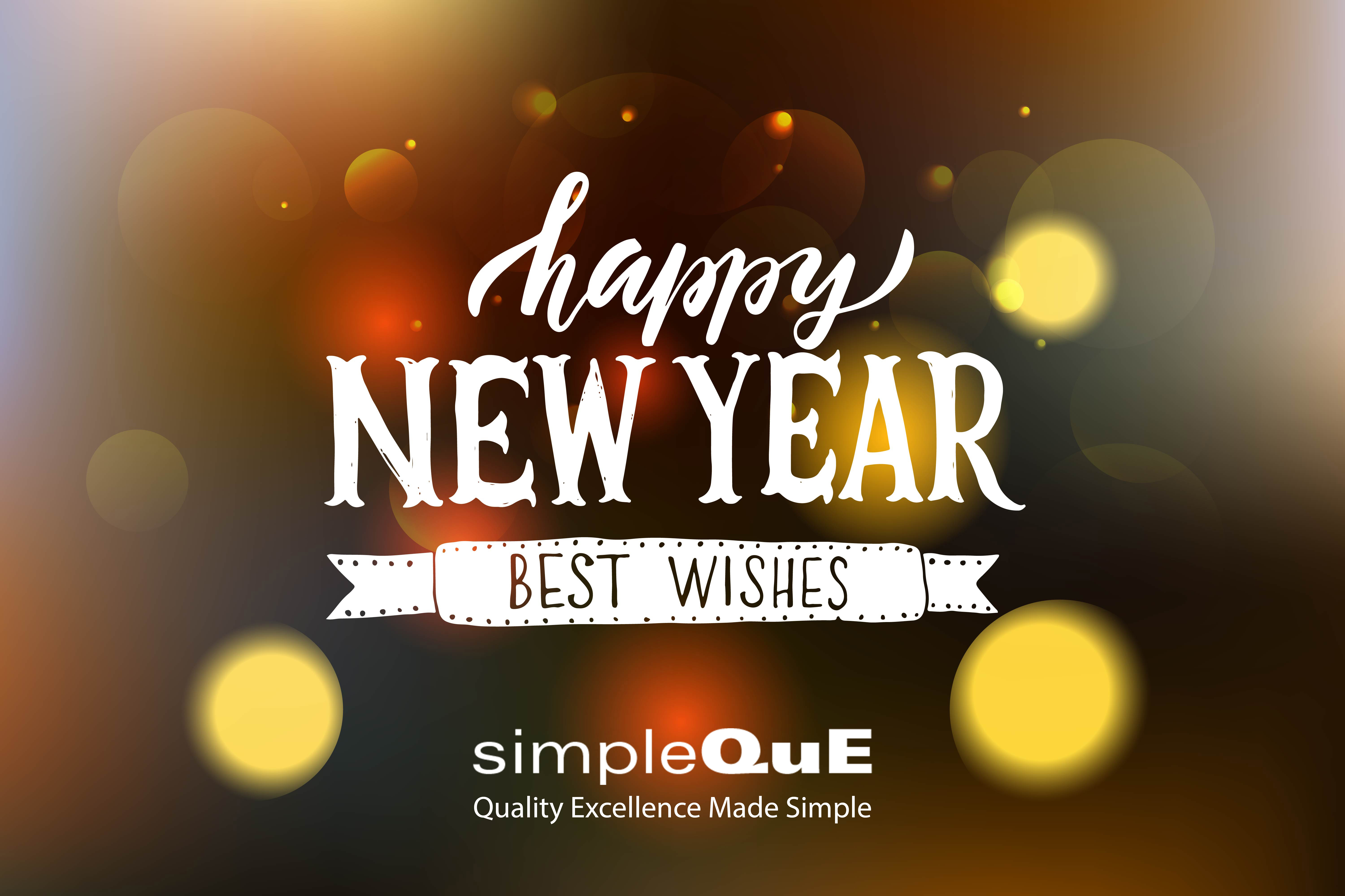 Happy New Year from simpleQuE