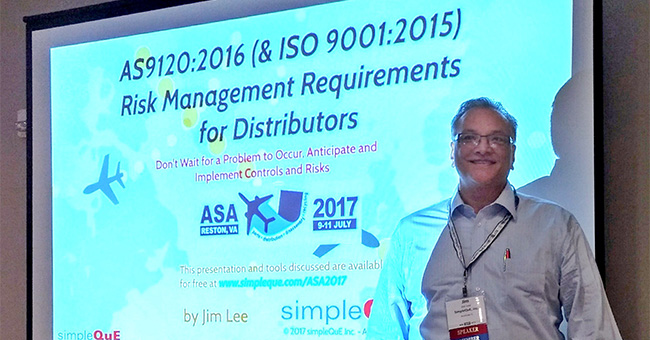 Jim Lee presents at ASA's 2017 Annual Conference