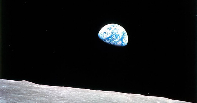 Discovering Earth While Reaching for the Moon