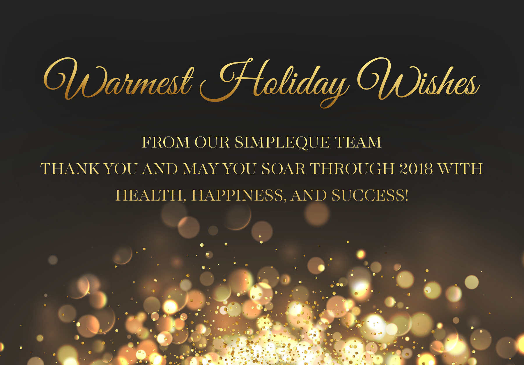 Happy Holidays from SimpleQuE