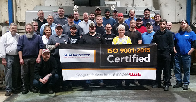 Congratulations to the entire Die Craft Team!