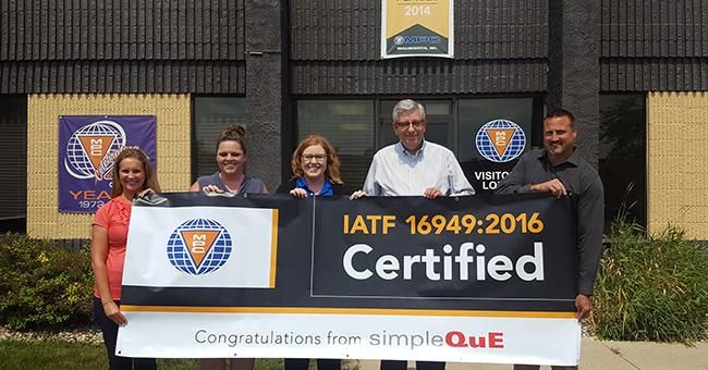 Preparing MPC for IATF 16949:2016 Certification