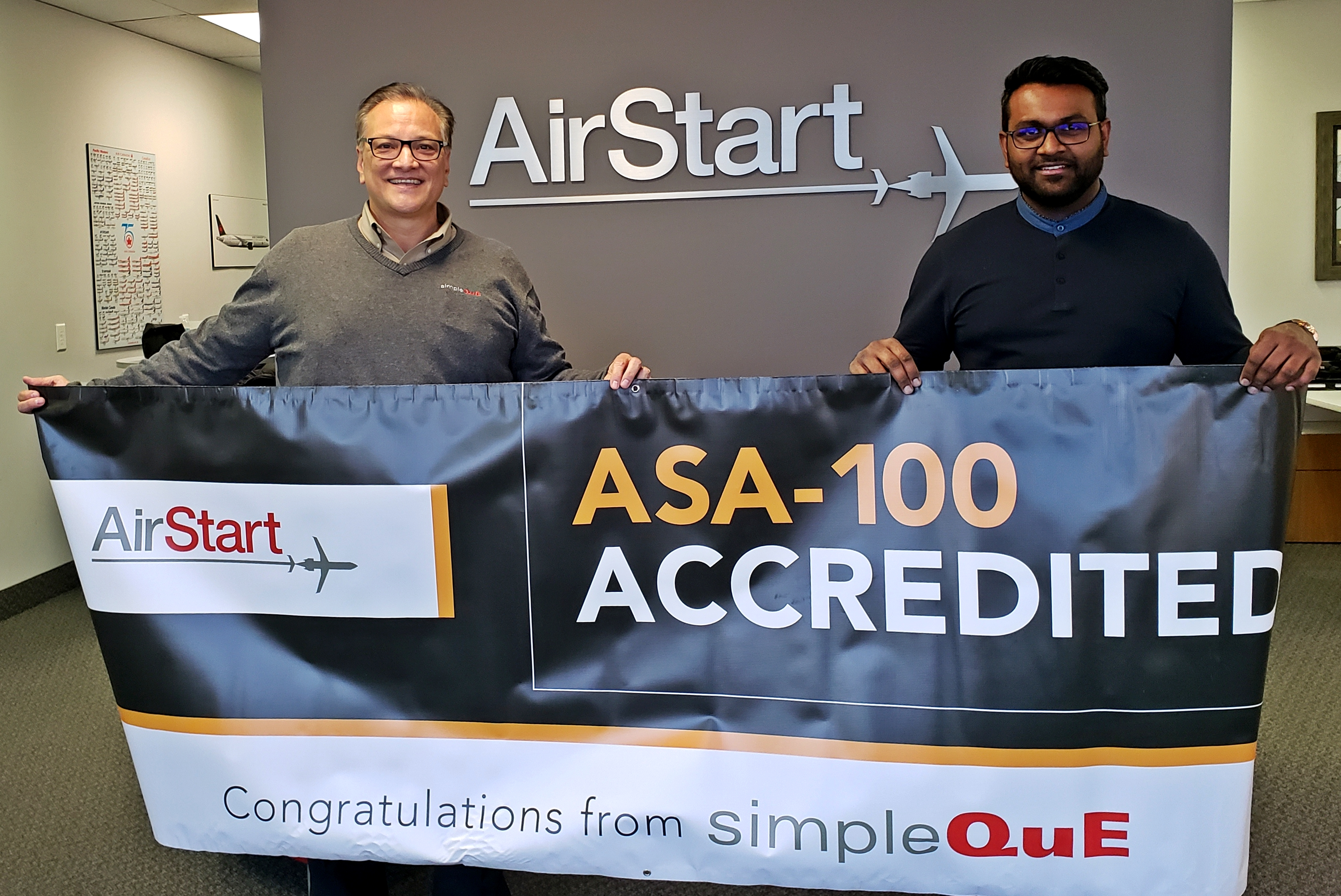 AirStart - Flying High with ASA-100 and AS9120