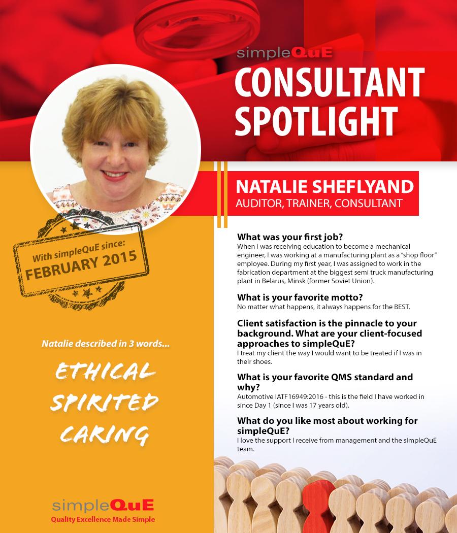 SimpleQuE Spotlight - Natalie Sheflyand