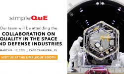 SimpleQuE to attend Collaboration on Quality in the Space and Defense Industries