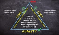 How much money, time and resources are going into your internal audits?