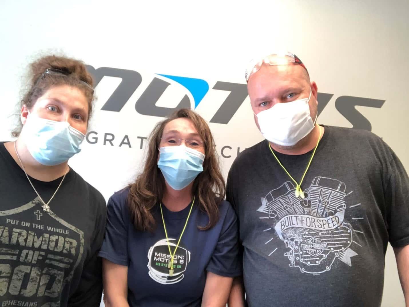 Motus Team Picture